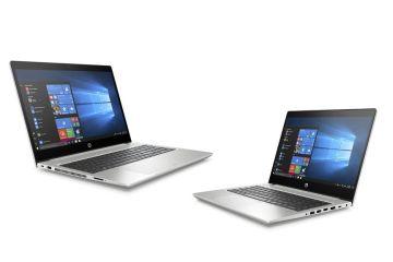 HP ProBook 445 G6 и ProBook 455 G6 - бизнес-ноутбуки с AMD Ryzen