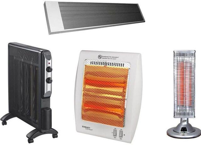 Преимущества электрических обогревателей