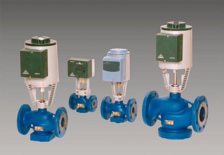 электрические клапаны для регулировки теплоносителя