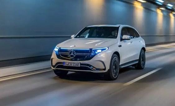 Mercedes-Benz EV ЭЛЕКТРОМОБИЛЬ
