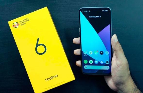 Конкуренция давит. На смартфон Realme 6 сильно упала цена