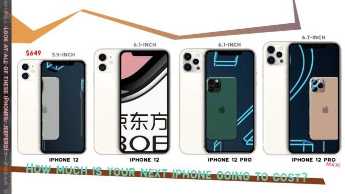 Экраны для iPhone12 компания Apple начнет покупать позже запланированного