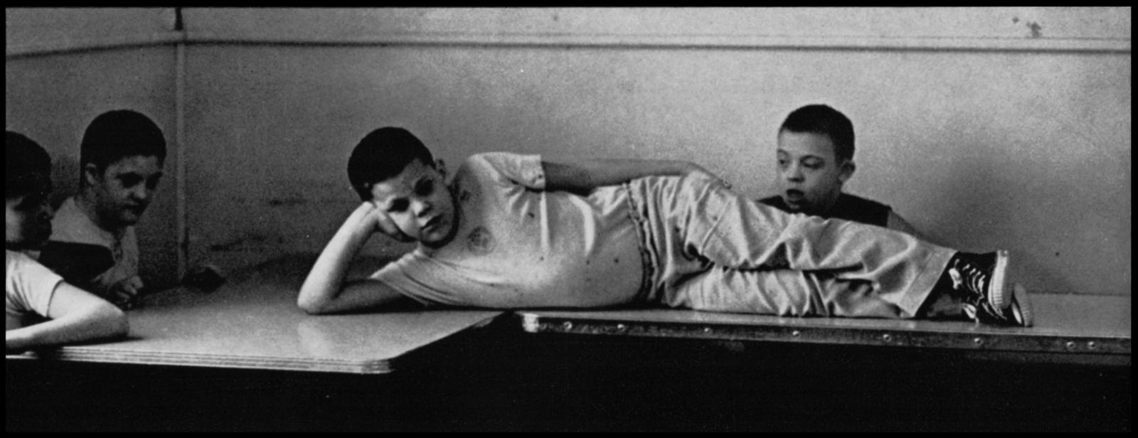Children recline