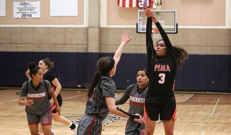 Sophomore Jacqulynn Nakai Team High 20 Points Helped Guide