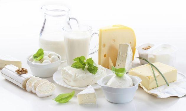 calcio derivados de leite