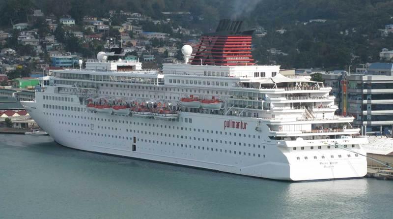 Vida a bordo navio de cruzeiro