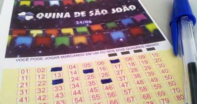 Quina de São João vai sortear R$ 130 milhões neste sábado (24/06)