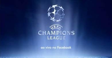 Facebook irá transmitir ao vivo jogos da Liga dos Campeões