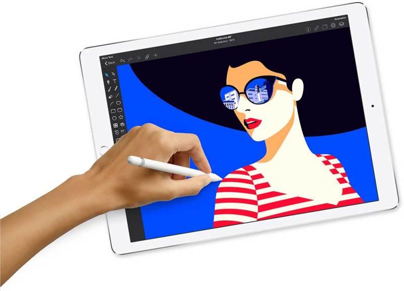 Apple iPad Pro com a Apple Pencil