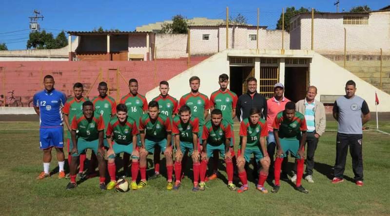 Equipe de Cravinhos foi testada em jogo-treino