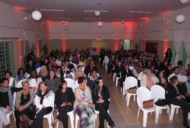 Grande público se fez presente ao evento de formatura