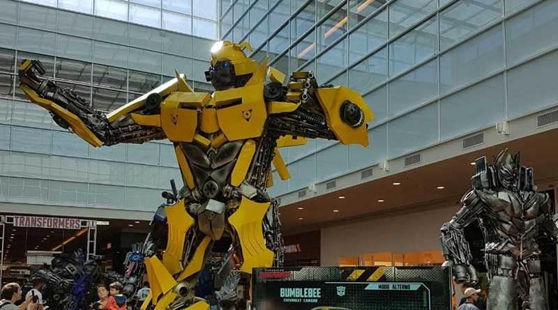 Exposição internacional 'Transformers', Bar de Gelo, Arena Hoverboard e Sniper