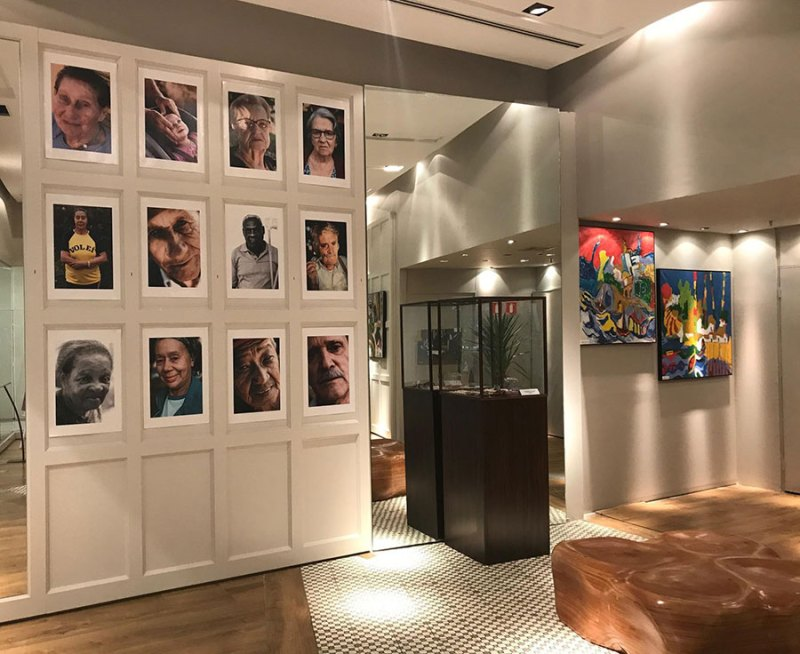 Exposição fotográfica mostra a arte na terceira idade