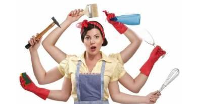 Tarefa de mulher x tarefa de homem?