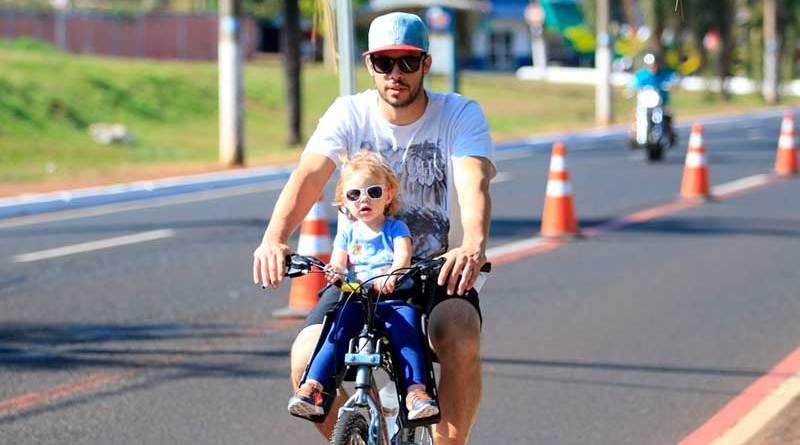 Ciclofaixa de Ribeirão Preto faz promoção para o Dia dos Pais