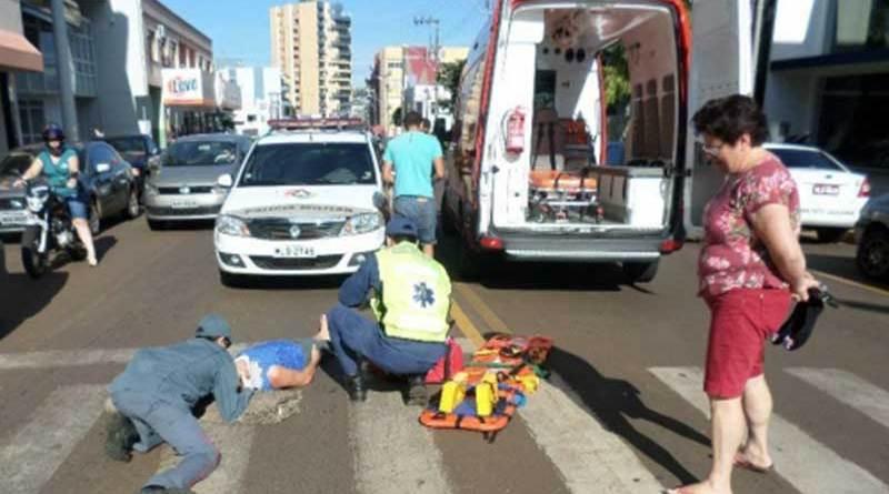 Sangue no asfalto e fé nos homens