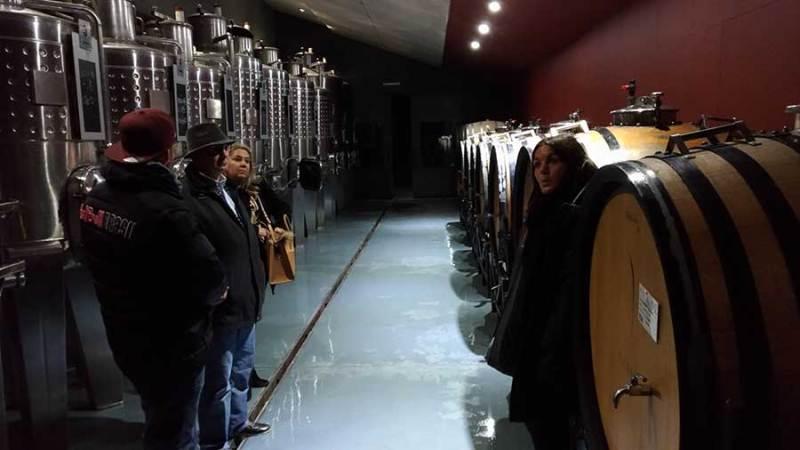 tour pela Pulenta Estate em Mendoza