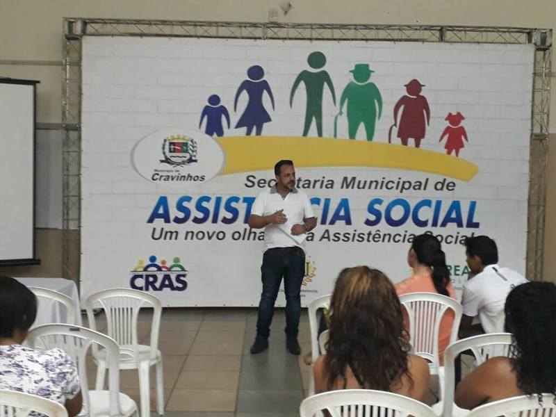 Secretário da Assistência Social de Cravinhos, Márcio Barroso, tem trabalhado em busca de cursos profissionalizantes