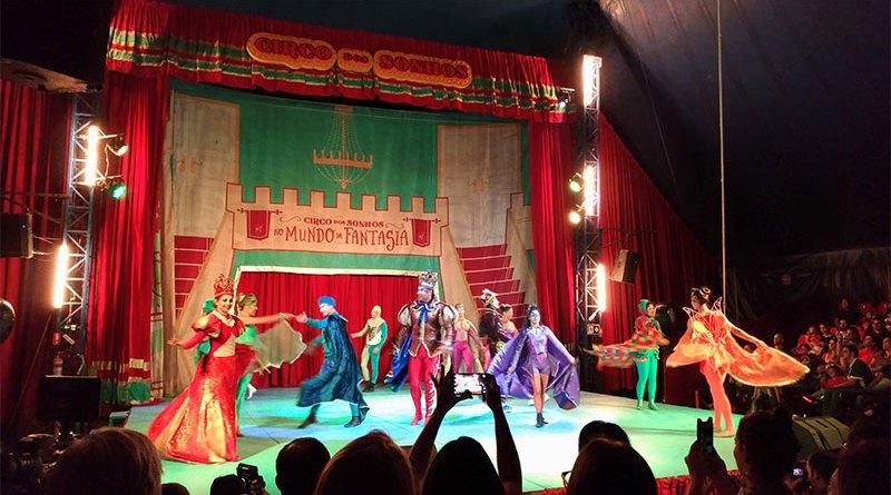 Circo dos Sonhos do ator Marcos Frota apresenta espetáculo inédito em Ribeirão Preto