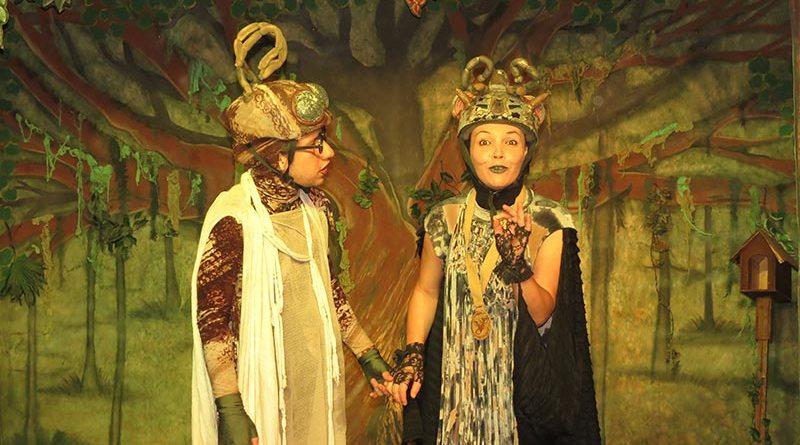 Público se encanta com teatro que aborda a preservação do Meio Ambiente