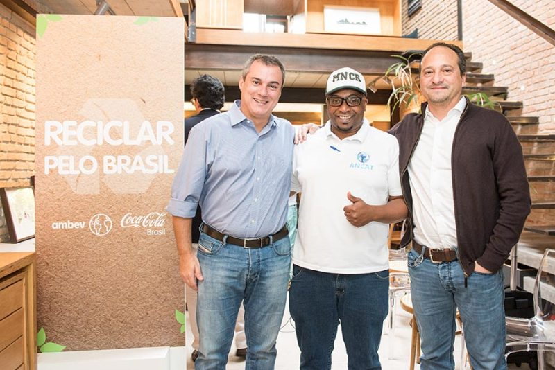 Ambev e Coca-Cola Brasil lançam juntas novo programa de reciclagem