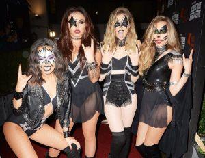 O grupo Little Mix de banda Kiss