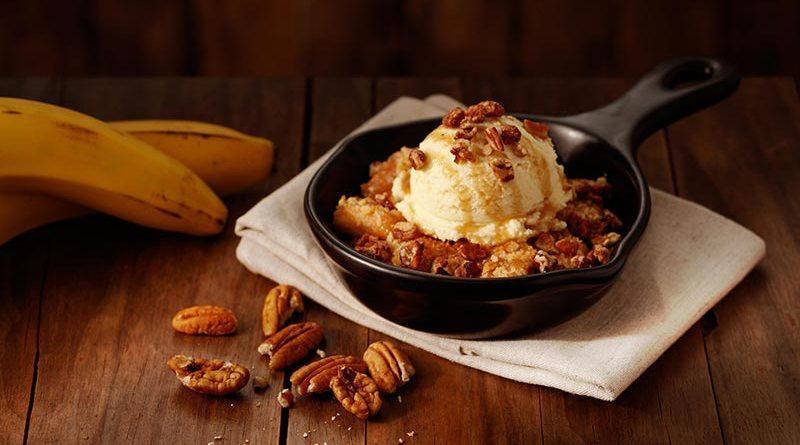 Outback apresenta sobremesa com banana e calda de caramelo