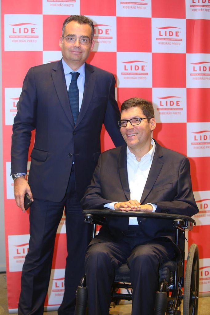 José Berenguer e Rodrigo Mendes participam de encontro do LIDE Ribeirão Preto