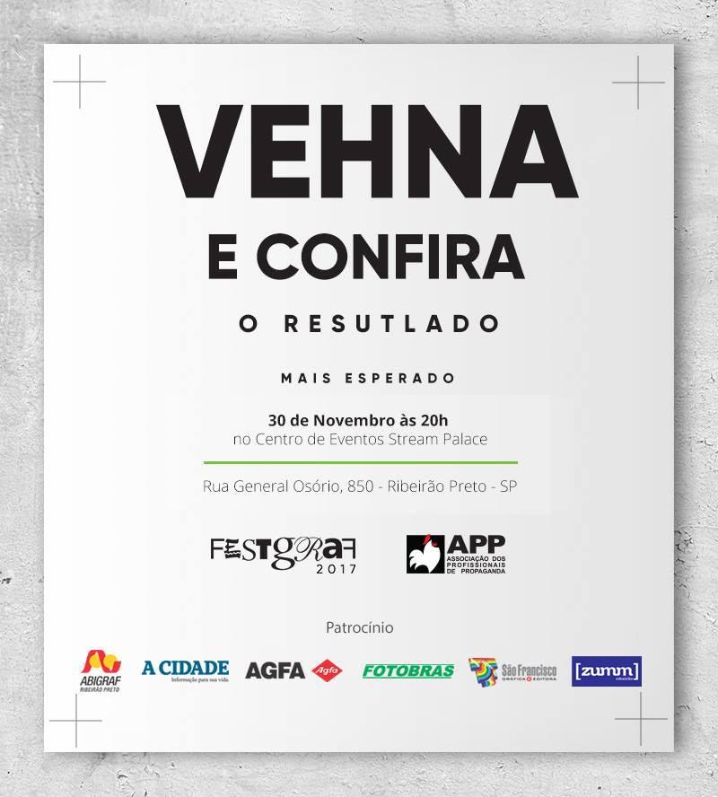 APP Ribeirão premia melhores trabalhos em mídia impressa no FestGraf 2017