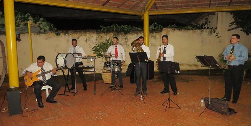 Apresentação da Brass Band Sexteto