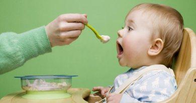 Introdução da alimentação complementar para o bebê