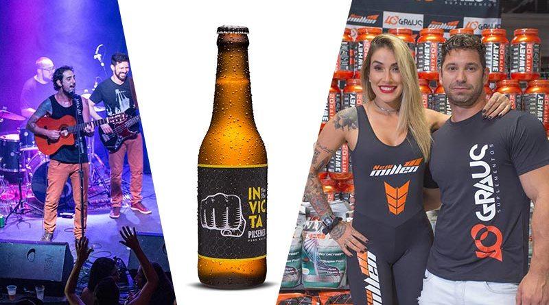 Cervejaria Invicta Garden Music Drops feira de adoção animal Mamãe de Biquíni LIDE Ribeirão Preto Estácio e Dani Bolina