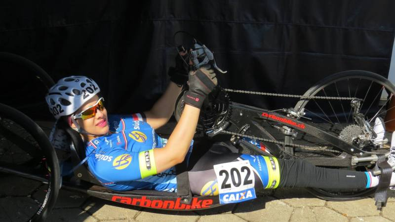 Mariana Garcia na handbike