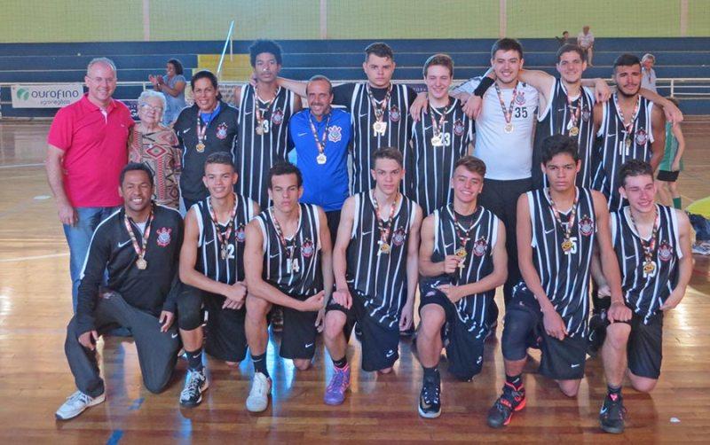 Time do Sport Club Corinthians ficou com o vice-campeonato da Série Prata do Sub-16