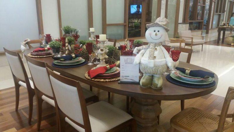 Centro Médico RibeirãoShopping sedia mostra de mesas decoradas para as festas de fim de ano
