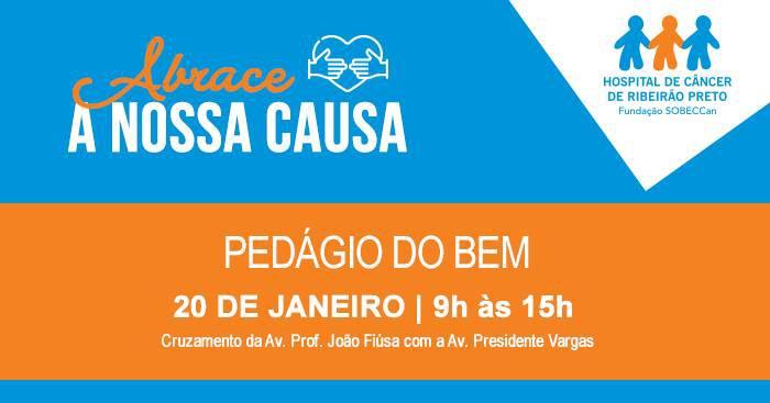 Hospital de Câncer de Ribeirão Preto realiza pedágio para arrecadar fundos