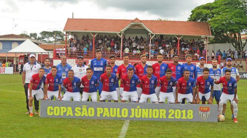 Equipe do Paraná Clube chegou a 3ª fase do torneio