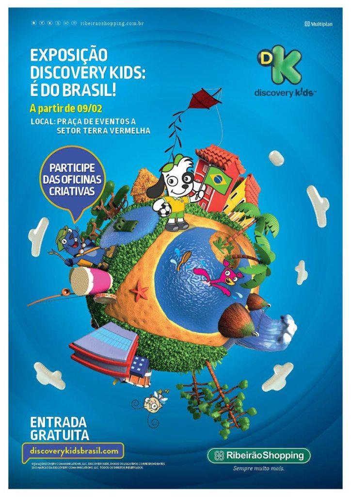 Discovery Kids traz exposição interativa para o RibeirãoShopping
