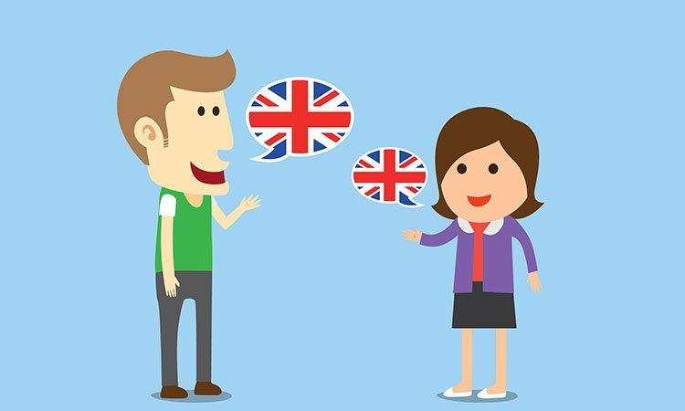 falar ingles