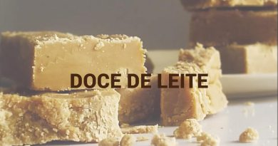 Doce de Leite à moda do Chef Tclei