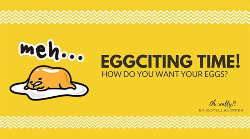 Como fala ovo em inglês?