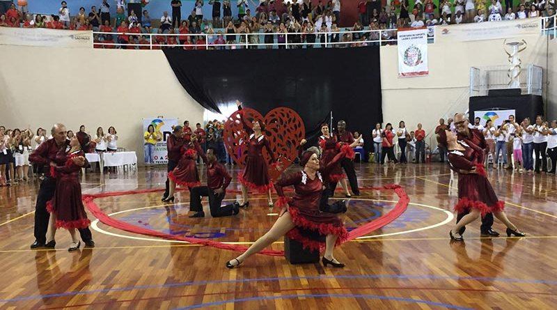 Coreografia de Cravinhos é campeã dos Jogos Regionais dos Idosos