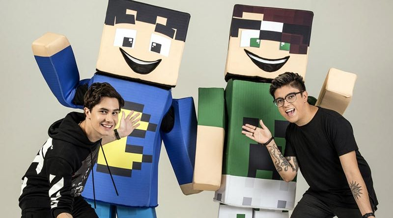 Show TazerCraft vai agitar a garotada no Centro de Eventos do RibeirãoShopping