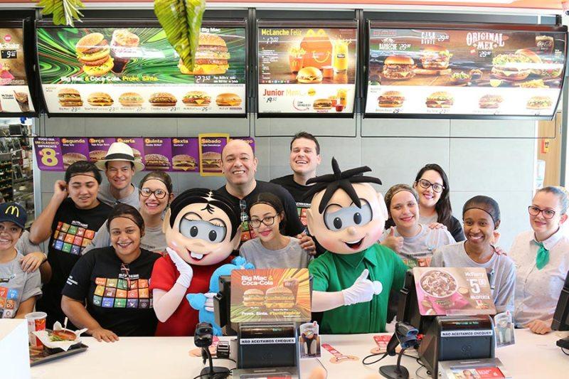 McDonald's traz Cargill e Turma da Mônica para a Feira da Sustentabilidade