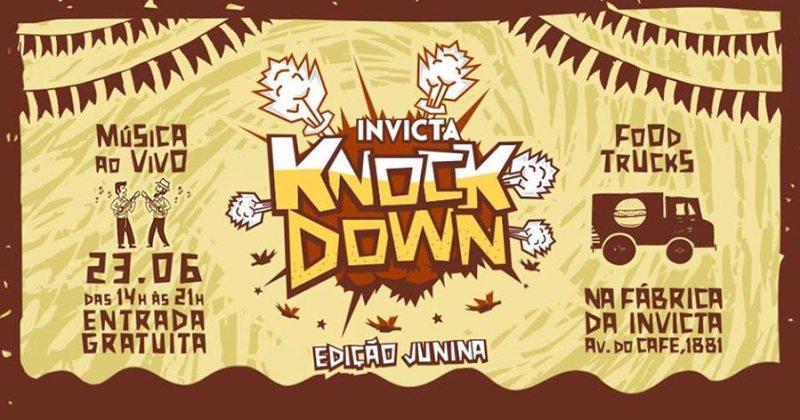 Invicta comemora semana do aniversário de Ribeirão Preto com Knock Down Junino