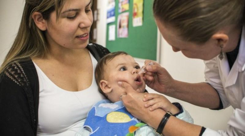 Dia D de vacinação de combate a Pólio e Sarampo acontece nesse sábado (18)