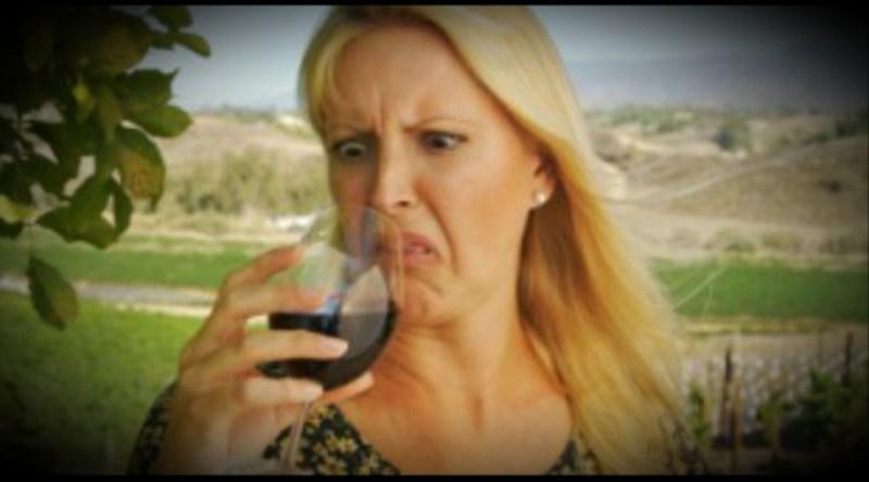 Devolvem o vinho porque não gostou