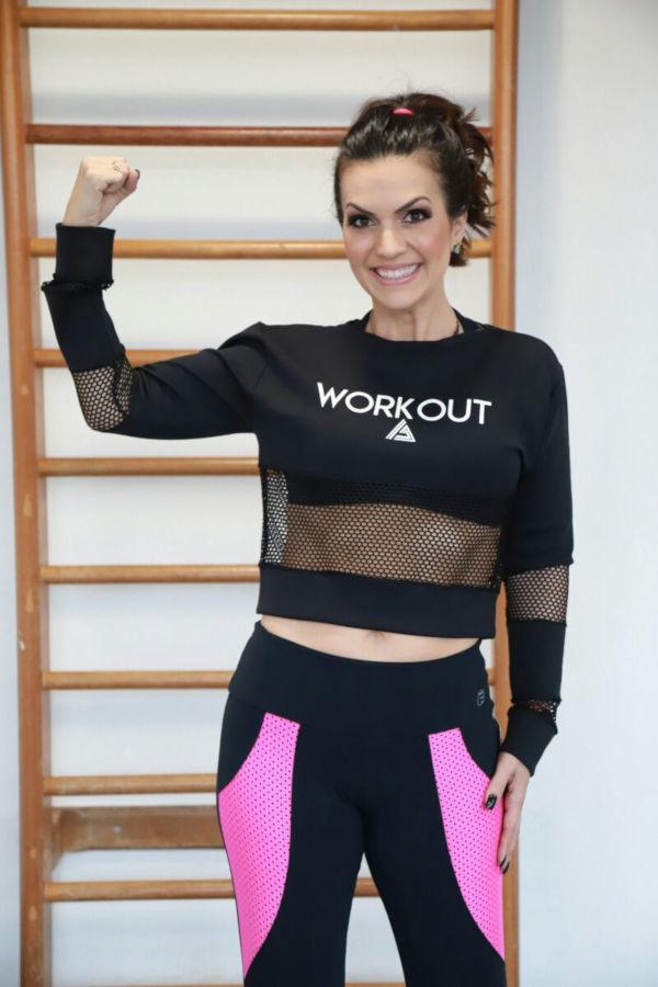 Quarentona fitness ganha destaque nas redes sociais compartilhando sua rotina