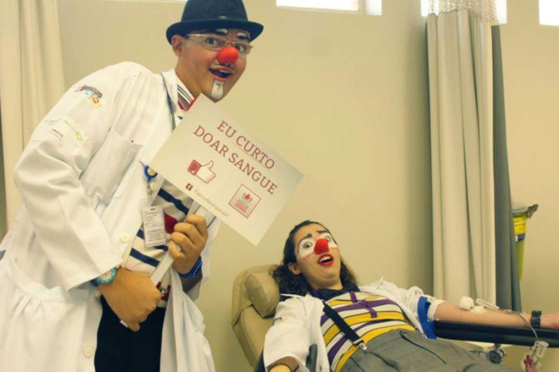 Centro Universitário Estácio Ribeirão Preto recebe profissionais do Banco de Sangue