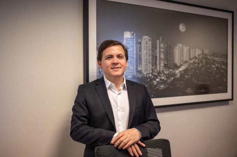 O sócio-fundador da BLB Brasil, Rodrigo Barbeti